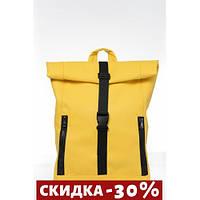 Рюкзак практичный рол л Roll желтый