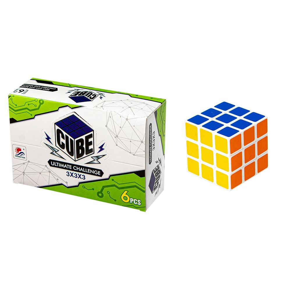 Головоломка КУБИК-РУБИК Cube 603-1