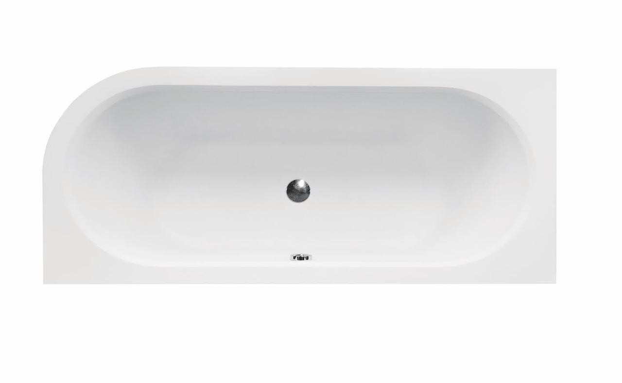 Ванна акриловая AVITA 170х75 Besco левая (соло) без ножек