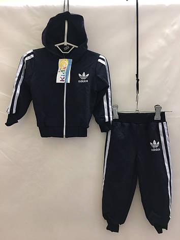 Детский спортивный костюм для мальчика Adidas р. 1-3 лет опт, фото 2