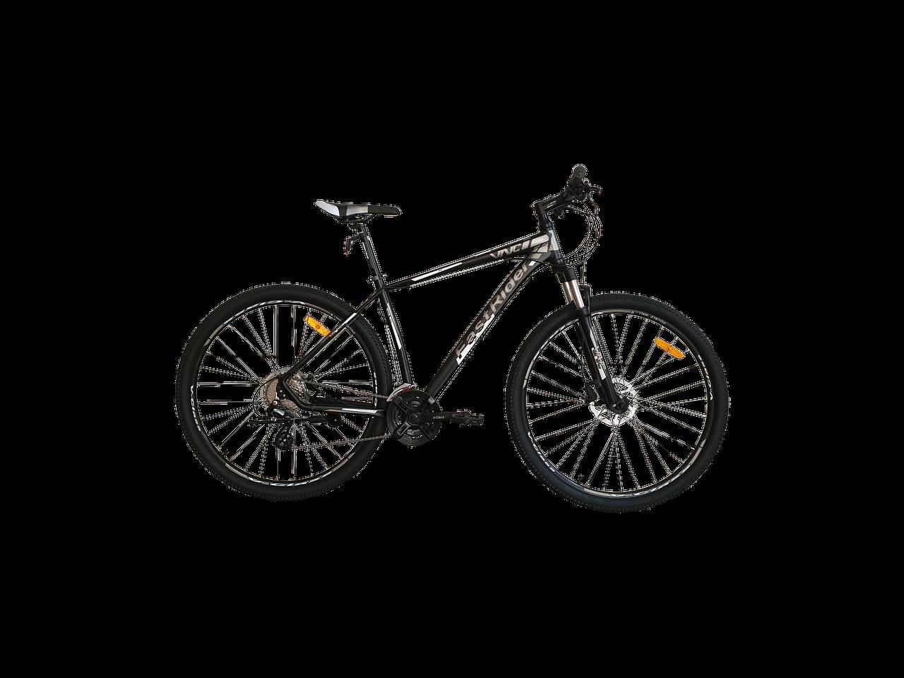 """Велосипед VNC 29"""" FastRider A5 XE, 29A5-49-BG, черный / серый M/19"""""""
