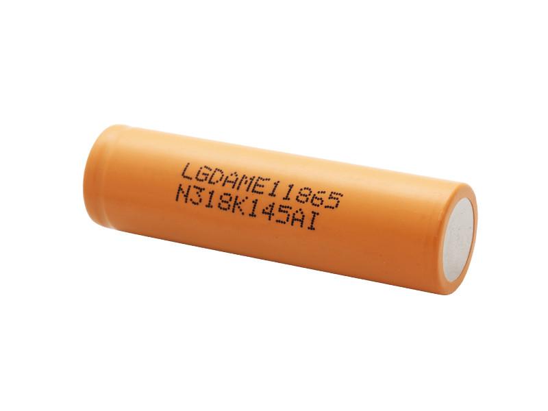 Аккумулятор 18650 Li-Ion LG INR18650 ME1 (LGDAME11865), 2100mAh, 4.2A, 4.2/3.65/2.8V