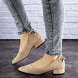 Женские туфли Fashion Tippy 2028 36 размер 23,5 см Бежевый, фото 2