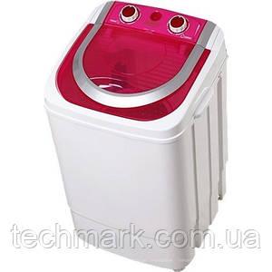 Стиральная машина полуавтомат VILGRAND V145-2570 red  (4,5 кг, съемная центрифуга из нерж.)