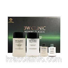 Набір для догляду за чоловічою шкірою 3W Clinic Homme Classic Essential Skin Care Set, 4 шт