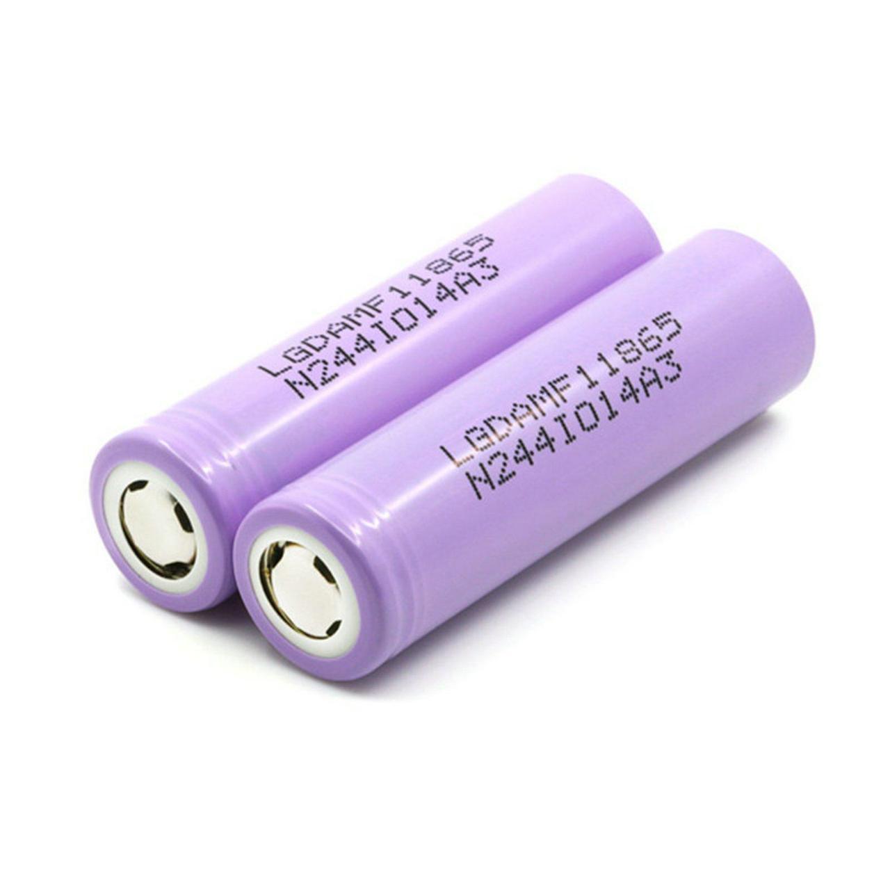 Аккумулятор 18650 Li-Ion LG INR18650 MF1 (LGDAMF11865), 2150mAh, 10A, 4.2/3.65/2.75V