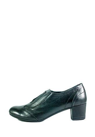 Туфли женские MIDA 21585-1 черные (36), фото 2