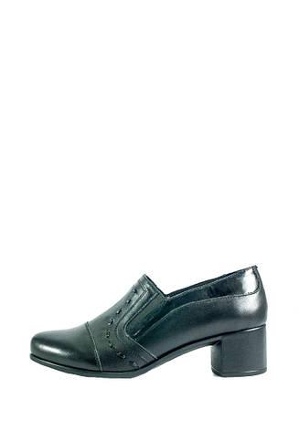 Туфли женские MIDA 210086-20 черные (36), фото 2