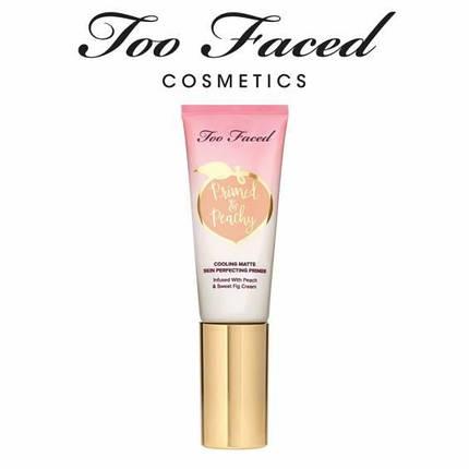 Охлаждающий матирующий праймер под макияж Too Faced Primed & Peachy Matte Perfecting Primer, фото 2