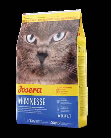 Josera Marinesse 10кг гиппоалергенный беззерновой рацион с лососем для кошек  Маринезе