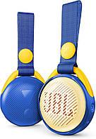 Портативная колонка JBL JRPOP Blue , Детская портавная акустика ОРИГИНАЛ