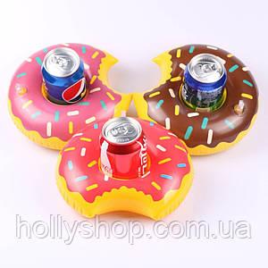 Надувний підсклянник пончик