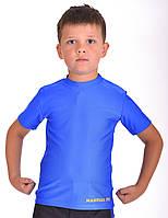 Футболка компрессионная BERSERK for KIDS MARTIAL FIT blue