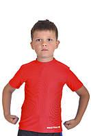 Футболка компрессионная BERSERK for KIDS MARTIAL FIT red