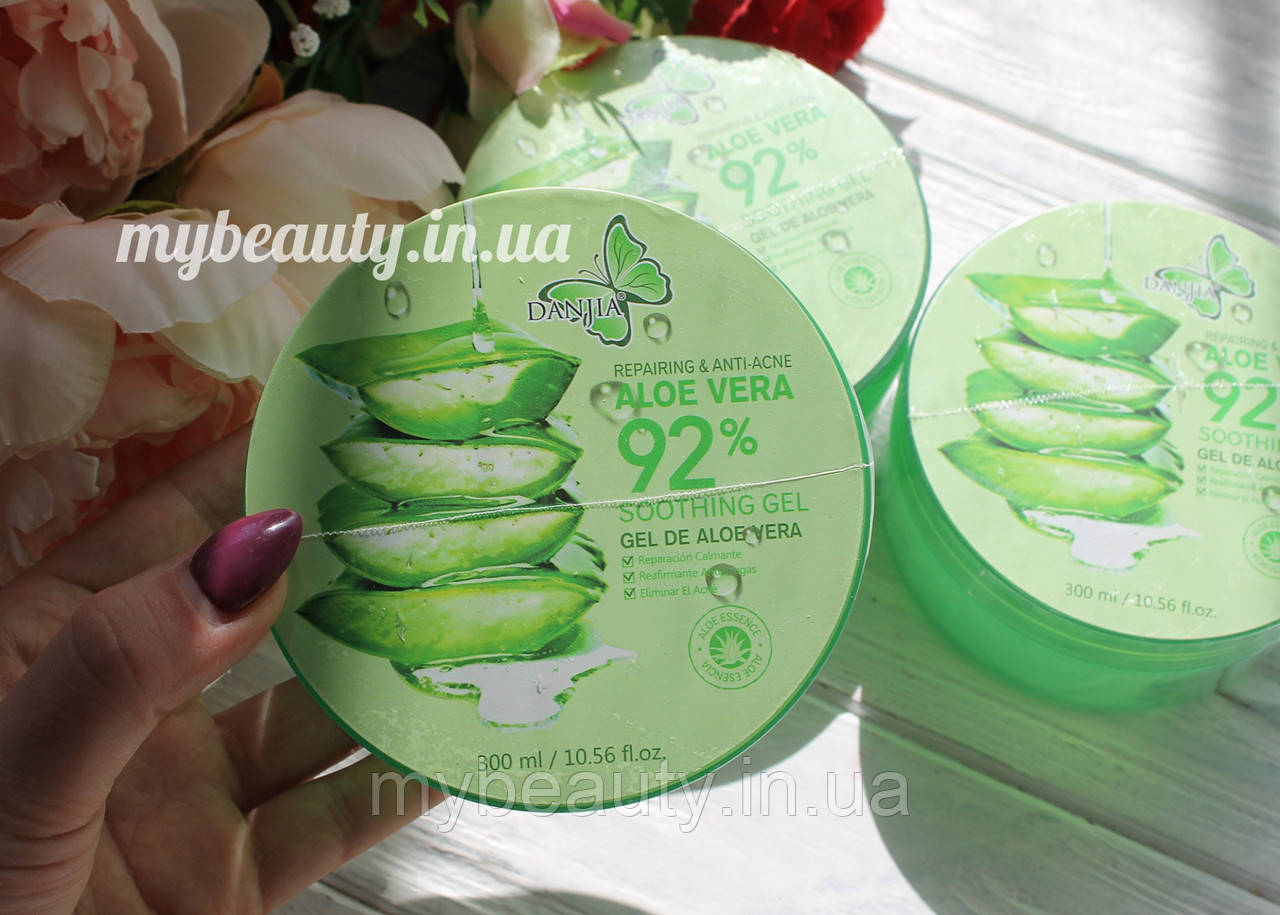 Гель для шкіри універсальний Danjia ALOE VERA 92 % Soothing & Moisture Gel 300 мл