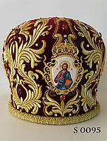 Купить головной убор священника по каталогу митр