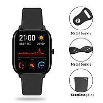 Ремешок для часов Sport design bracelet Universal, 20 мм. Black, фото 6
