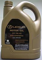 Синтетическое моторное масло SM SAE 5W-40 LEXUS 08880-82800