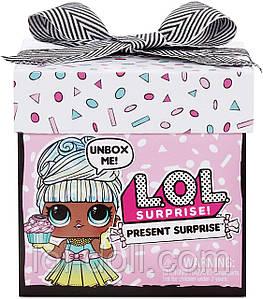 Кукла ЛОЛ Подарок Оригинал L.O.L. Surprise! Present Surprise Doll