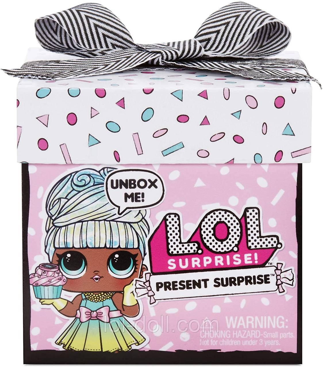 Кукла ЛОЛ Подарок Оригинал L.O.L. Surprise! Present ...