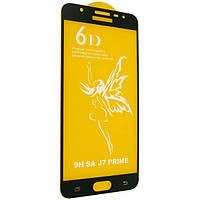 Защитное стекло 6D Glass Premium для Samsung G610F   G611F Galaxy J7 Prime   J7 Prime 2 Черный 11, КОД: 1716522