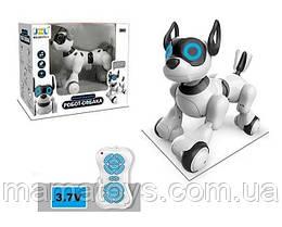 Интерактивная Собака на Радиоуправлении 20173-1 Размер 28 см Ходит, звук, свет, USВ зарядное