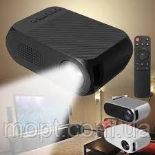 """Мини Проектор Мультимедийный YG 300 LED Full HD 1920*1080  изображение 24""""-60"""""""