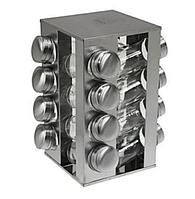Набор баночек для специй Benson BN-175 из 16 сосудов на подставке (BN-175-16)