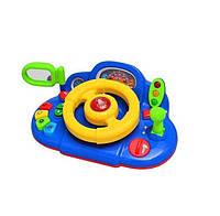 Автотренажер детский руль Limo Toy Автолюбитель Синий (M 1377 U-1R)