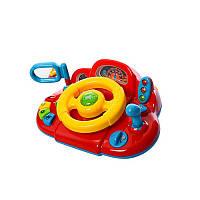 Автотренажер детский руль Limo Toy Автолюбитель Красный (M 1377 U-2R)