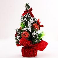 Новогоднее украшение Елка 20 см Красный (hub_LeHg13429)