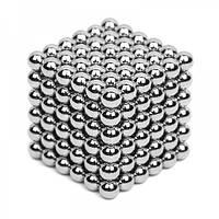 Игрушка-конструктор Neocube 216 магнитных шариков Серебристый (258460)