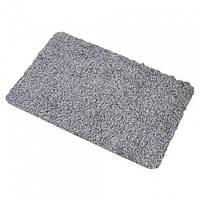 Супервпитывающий придверный коврик Clean Step Mat Серый (258534)