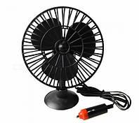 Автомобильный вентилятор на присоске MINI LUFTER MJ40A Черный (300368)