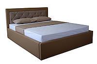 Кровать MELBI Флоренс Двуспальная 140х190 см с подъемным механизмом Бежевый KS-014-02-1беж, КОД: 1670600