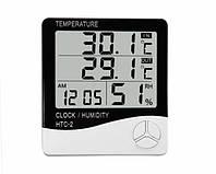 Термометр гигрометр электронный HTC-2 с выносным датчиком (300497)