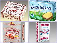 Изготовление упаковки для масла сливочного