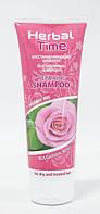 Восстанавливающий шампунь для сухих и окрашенных волос Роза