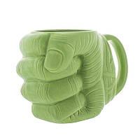 Кружка керамічна 3D GeekLand Кулак Халка Fist Hulk HU.02.021