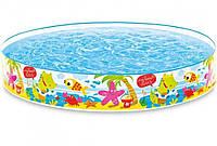 Детский Каркасный Бассейн Водный Мир Intex 152 х 25 см, фото 1