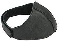 Автопятка кожаная для женской обуви чёрная 608835