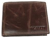 Мужское кожаное портмоне ALWAYS WILD SPRM032 Brown коричневый