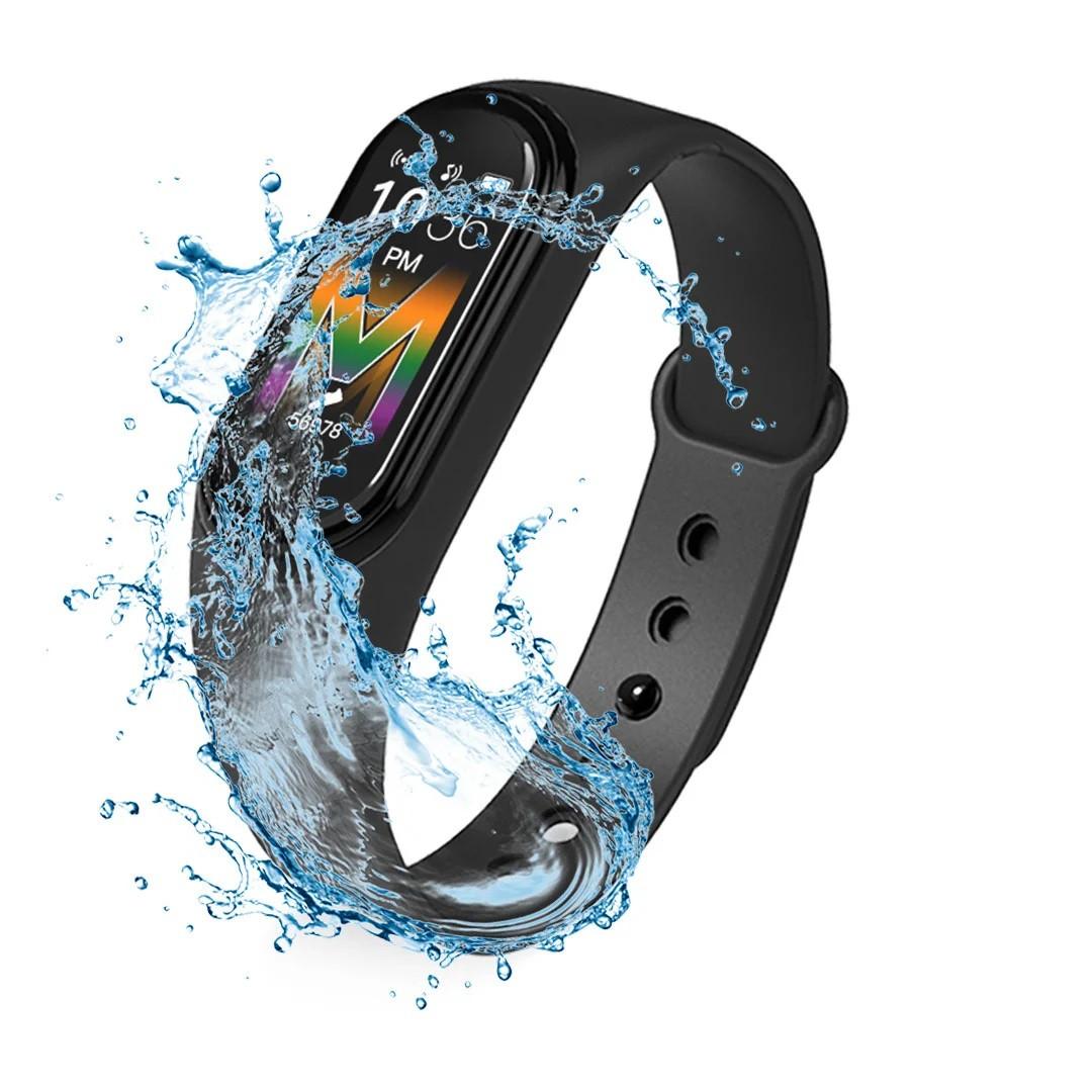 Спортивные умные смарт-часы браслет Xiaomi Mi Band M5, Фитнес-трекер Smart Watch, Шагометр, Давление, Пульс