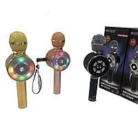 Микрофон Wster WS-669 (USB, microSD, AUX, Bluetooth)
