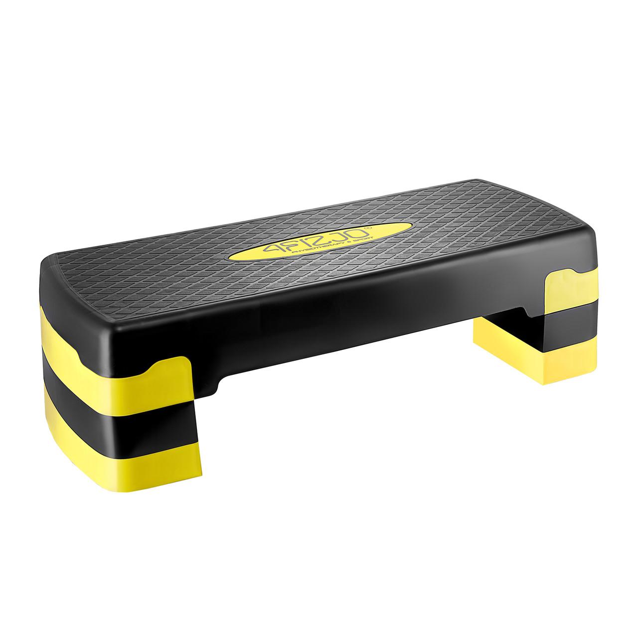 Степ-платформа 3-ступінчаста 4FIZJO 4FJ0149 Black/Yellow