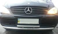 Защита переднего бампера (двойной усь 60\48мм) Mercedes Vito 639