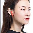 Беспроводные Bluetooth наушники Baseus Encok W09 TWS Red, фото 4