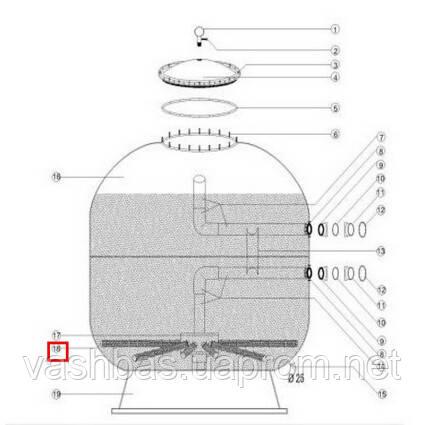 Aquaviva Сепаратор фильтра 1050-1250 мм