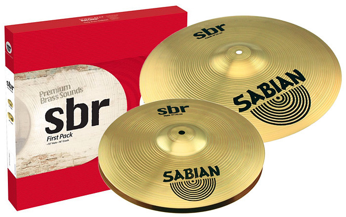 Набор тарелок SABIAN SBr First Pack