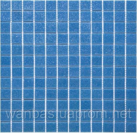 Одноцветная  стекломозаика A 63 синяя